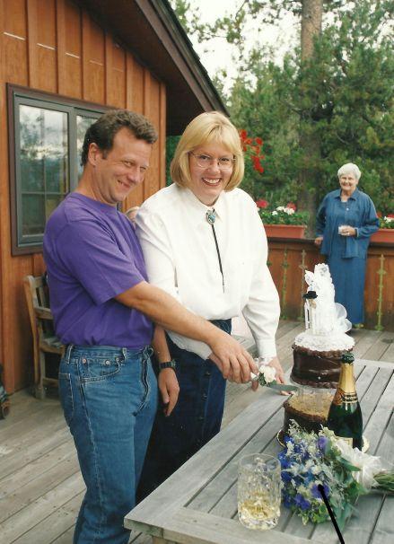 25 wedding in tetons arrow
