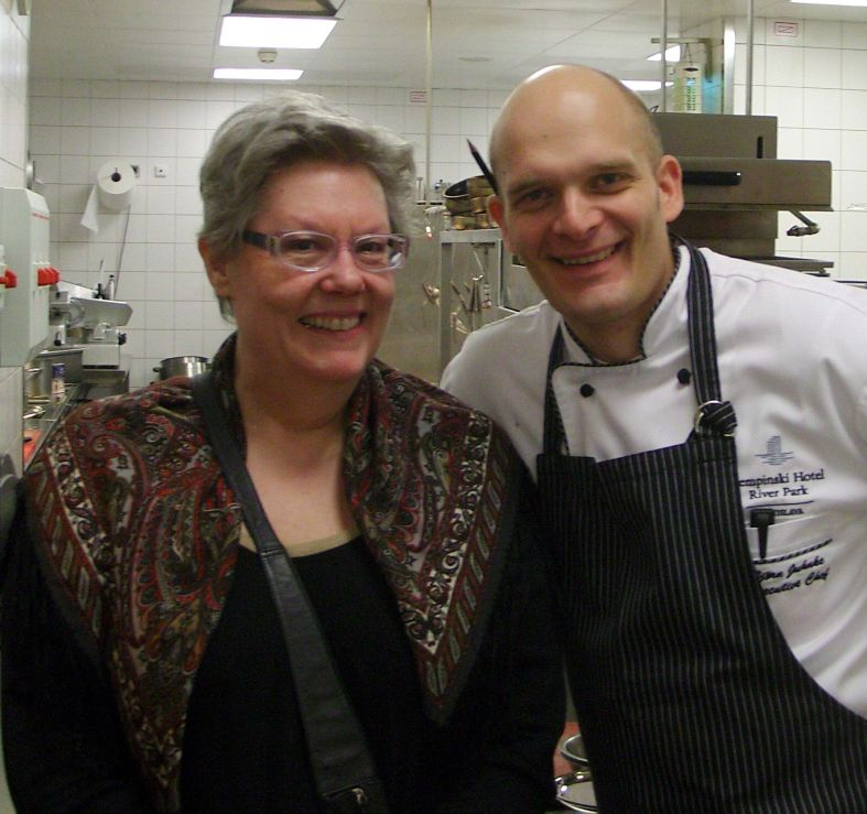 Jo and chef